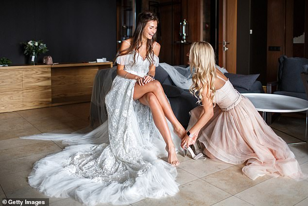A bride has found herself in a difficult situation after revealing that her bridesmaid has pulled out two weeks before her big day (stock image)