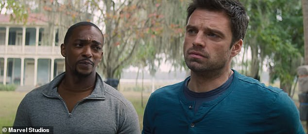 Falcon:Mackie most recently starred in The Falcon and the Winter Soldier, which aired on the Disney Plus streaming service