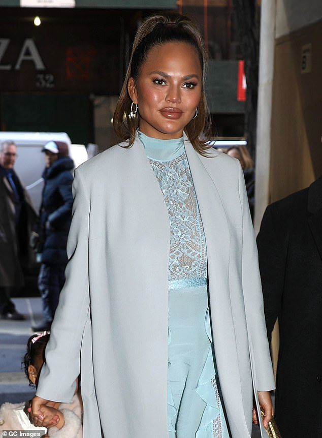 Lost in the Mail: Chrissy Teigen, 35, sobs as she reveals a stack of fan letters she