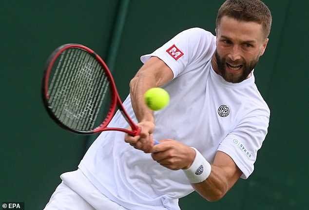 Fellow British player Liam Broady will make his Olympics debut againstFrancisco Cerundolo