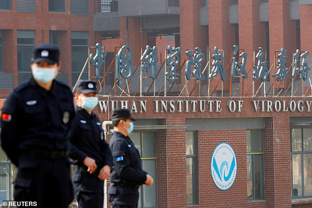 China has insisted a leak from the Wuhan Institute of Virology would have been 'extremely unlikely' citing the conclusion reached by a joint WHO-Chinese mission to Wuhan in January