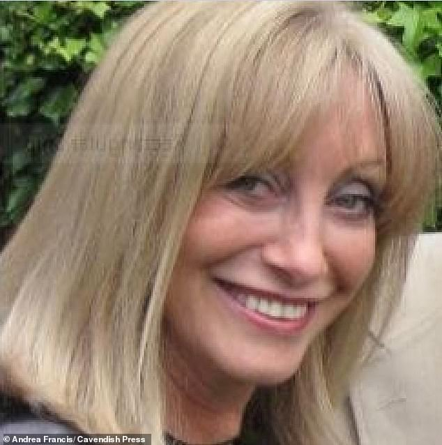 AndreaFrancis is a £140,000-a-year boss of a pharmaceutical firm which she runs from her luxury £1.2million former Victorian coach house in the affluent Cheshire village of Marthall
