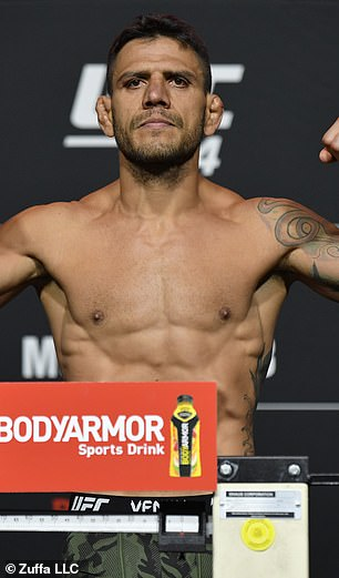 Rafael dos Anjos has claimed that the Russian agreed to fight him if he Islam Makhachev.  beats