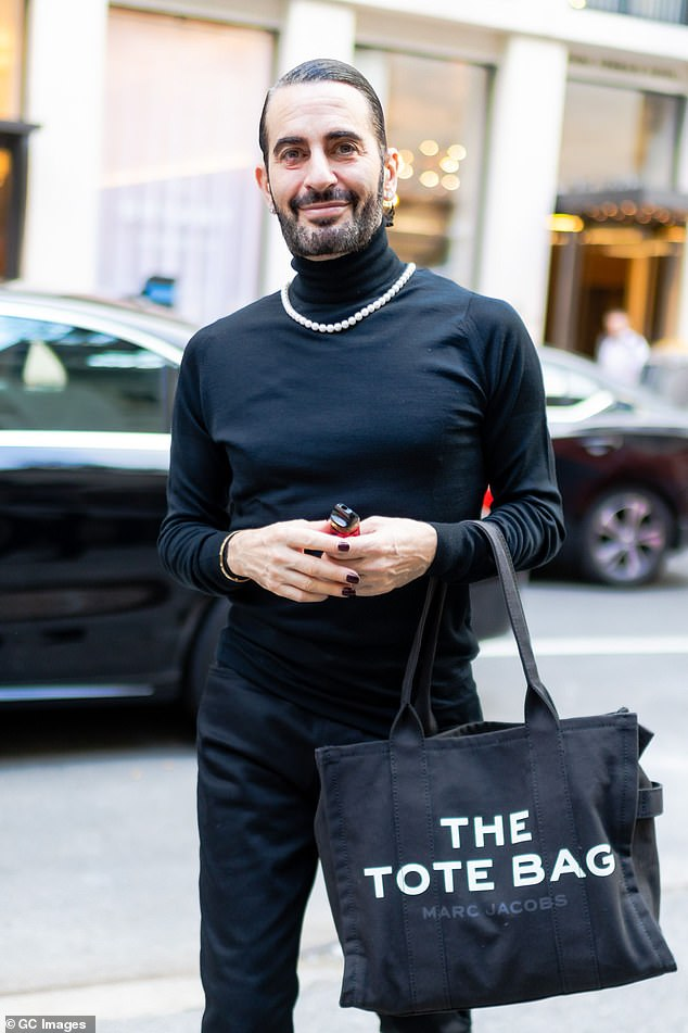Professional: The Doctor Marc (pictured June 28) tagged in the post - Dr.  Andrew Jacono - is a top plastic surgeon in New York, known for his mini facelifts