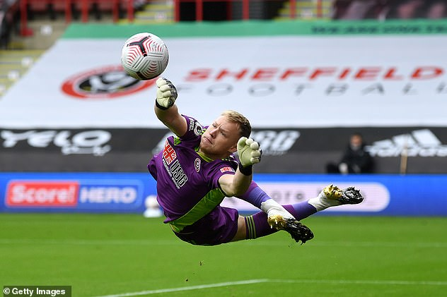 Arsenal said to be preparing £30million offer to buy goalkeeper Aaron Ramsdale