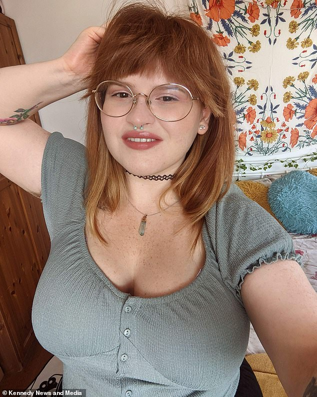 She said shedeveloped body dysmorphia from being bullied and shamed for the size of her boobs by girls in school as well as being harassed by boys online asking for pictures