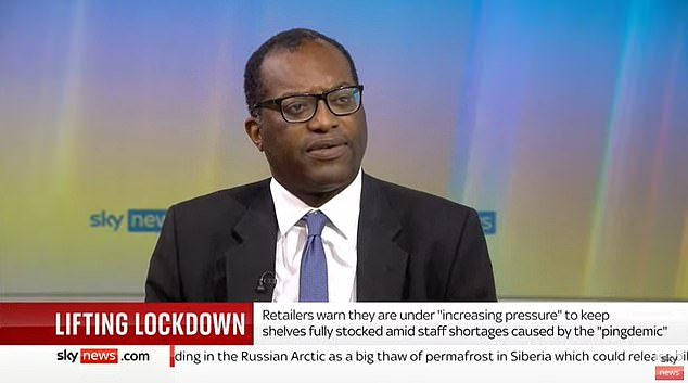 Business Secretary Kwasi Kwarteng said he would be holidaying at home this year as a 'personal choice'.
