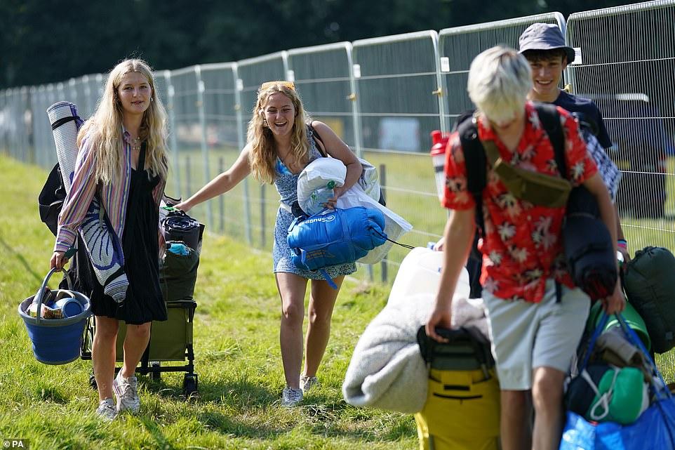 Festivals are back! 40,000 revellers flood into Latitude