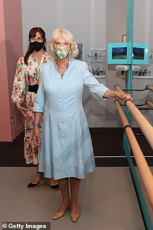 She first wore the summer ensemble during a trip to the V&A Museum on June 9, 2021