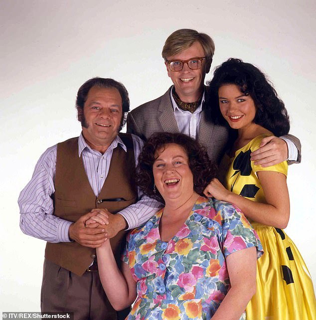 Making a return:Philip Franks, Catherine Zeta-Jones, Pam Ferris and David Jason starred in the original hit series