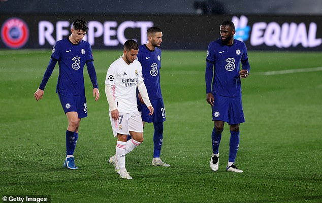 Hazard was fascinating for Chelsea but we don't need him with the talent coming through