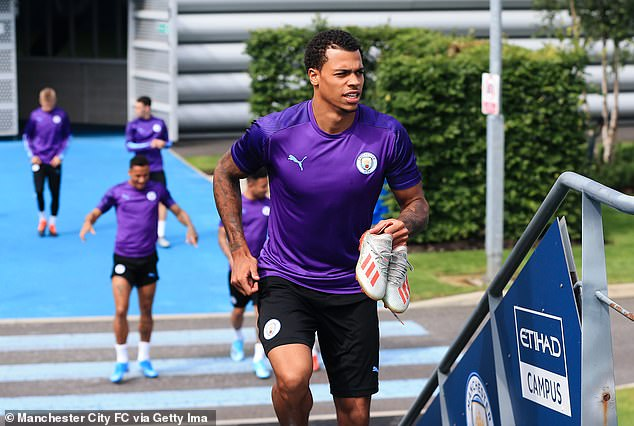 Lukas Nmecha has revealed he left Manchester City because he didn't expect to get a chance