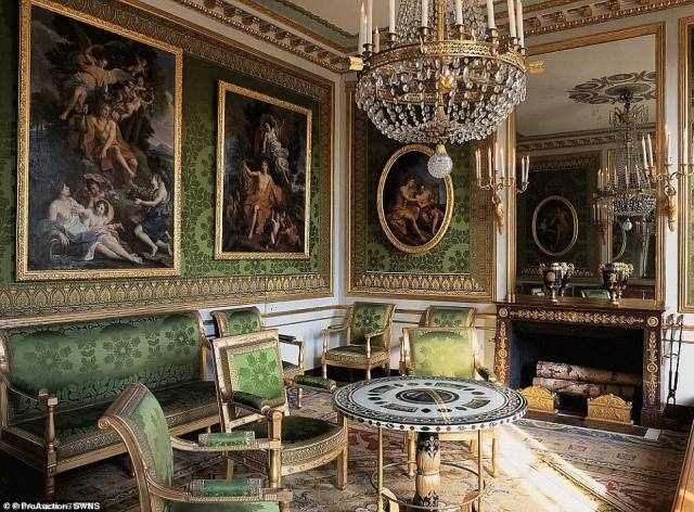 The scheme will see 2-8a Rutland Gate become Britain's most expensive home. Pictured: One of the property's luxurious rooms