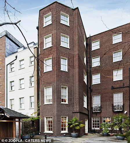The house extends to approximately 18,679 sq ft and has a spacious mews house to the rear
