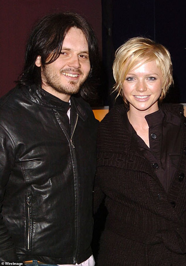 Oops: Paul made the mistake of bringing up his former flame and bandmate Hannah, which got his date off of him (pictured together in 2005)