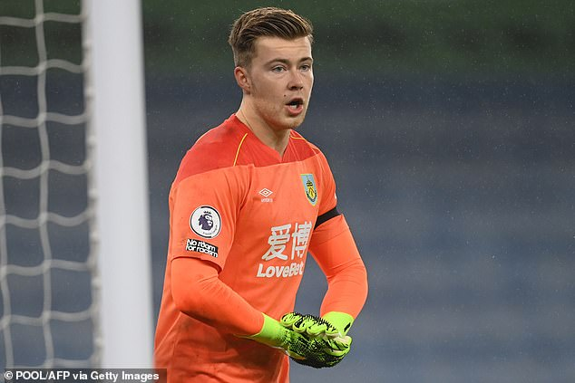 Bournemouth could turn attention to Burnley's Bailey Peacock-Farrell in search of goalkeeper