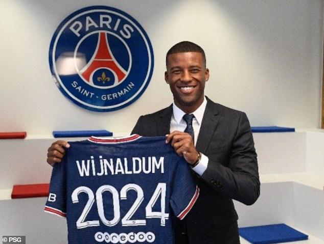 Paris Saint-Germain have now officially unveiled Georginio Wijnaldum as their newest addition