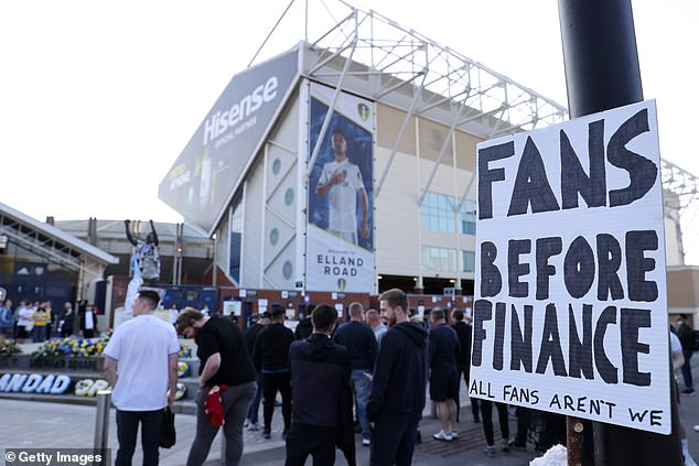 Fan protests spread across the country after proposals for a European Super League were unveiled, but they quickly spread to wider criticism of football governing body