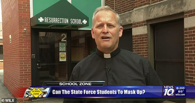 Pastor Steve Mattison, pastor of the Church of the Resurrection in Michigan, says masks hinder students' education.  An appeal filed by the Catholic School of the Church to block state mask mandates was heard on Wednesday