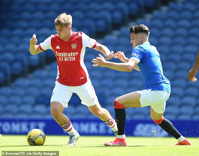 The attacking midfielder has been linked with Aston Villa but has decided to stay with Emirates