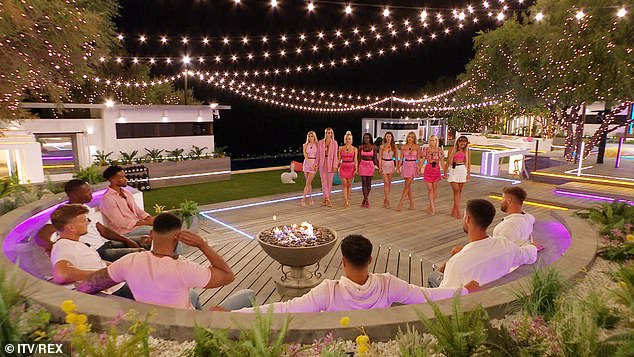 Shock: One girl is set to be evicted from the Love Island villa as the islanders are forced to do a surprise recoupling
