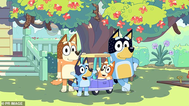Kids in the United States start talking with an unmistakable Australian twang after tuning in to Bluey, a series that follows a lovable family of blue heels