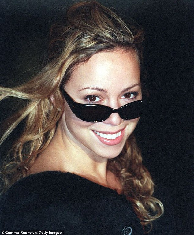 Mariah Carey (photographed here in 1999) is a self-proclaimed diva who wears sunglasses indoors