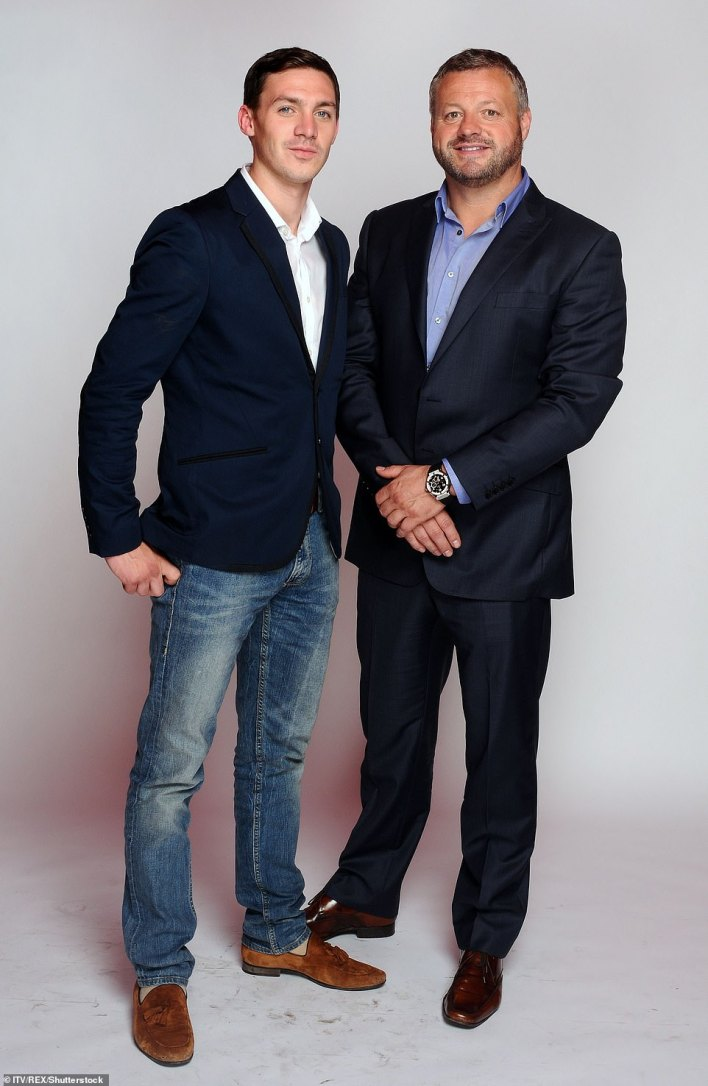 Mick and Kirk both played in Towie, but later dropped out to focus on their business