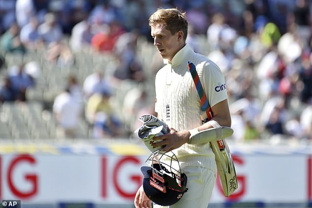 The 23-year-old has endured a scorching 12 months in Test cricket, not making any big scores
