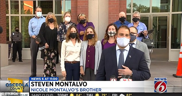 On Wednesday, members of Montalvo's family told reporters that 'justice had been served'