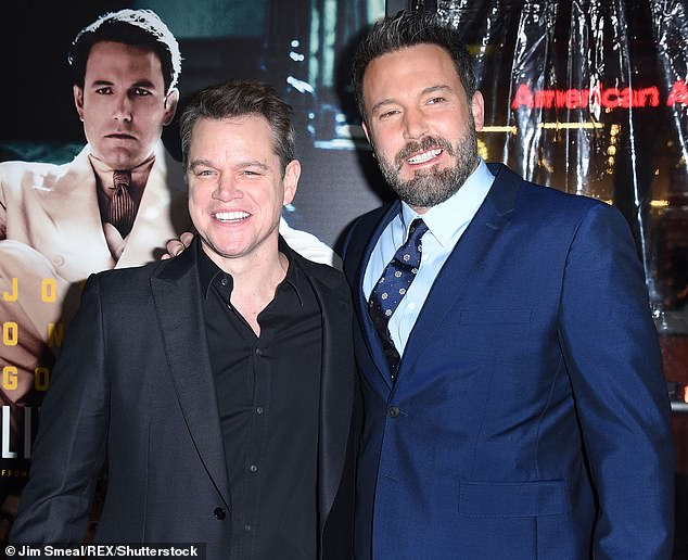 Look back on: Matt Damon said he will write more in the future with his friend Ben Affleck;  here you see you in 2017