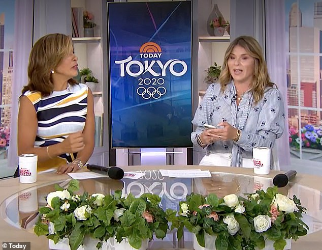 'Isn't that the saddest?' Jenna admitted to her co-host Hoda Kotg that her husband Henry Hager actually considered picking Mila up that night