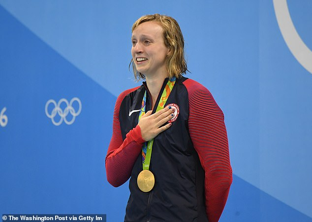 Katie Ledecky won four gold medals in Rio and is back again to defend three individual titles