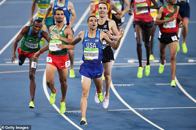 Matthew Centrowitz was in disbelief as he claimed 1,500m gold in Rio back in 2016