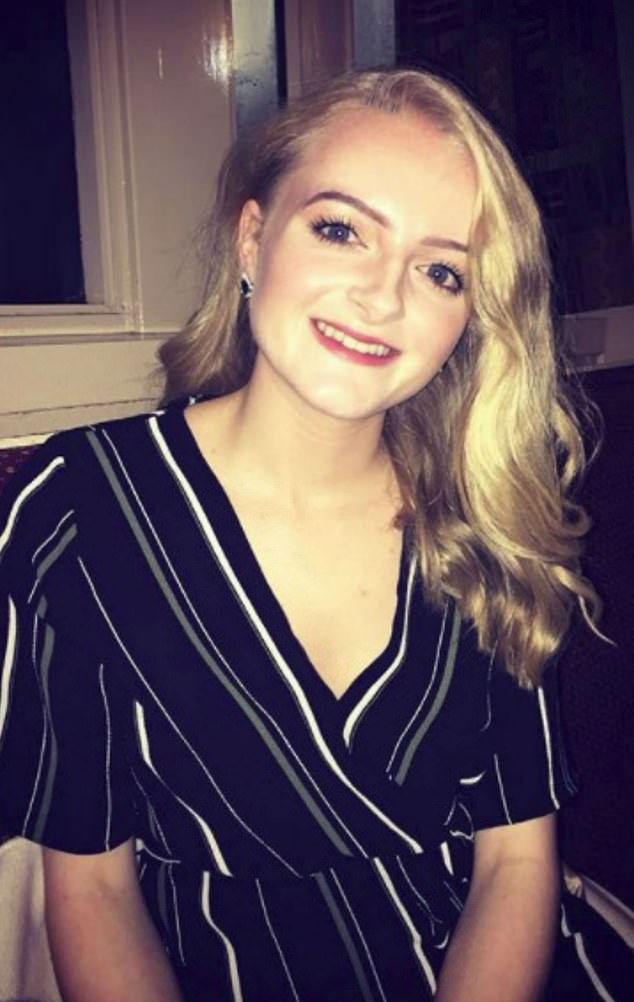Mr Dunsmuir, who is 49, was allegedly seen visiting a pub with the schoolgirl, who can now be named as Megan Reid (pictured), and other youngsters between March and August of 2015
