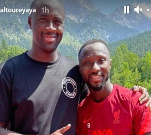 Naby Keita quickly had a click with Toure