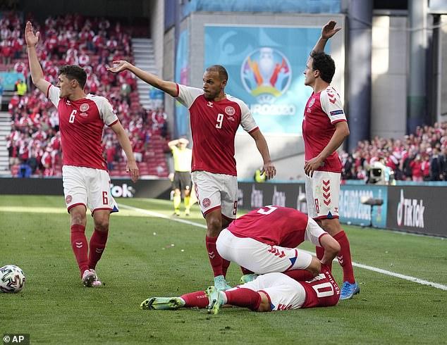 Eriksen, 29, suffered a cardiac arrest during Denmark's Euro 2020 tie with Finland on June 12