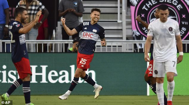 Inter Miami was beaten 5-0 by New England Revolution - meaning sixth loss in a row