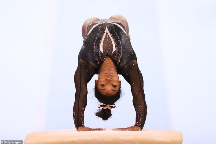 SimoneBiles has unveiled a series of boundary-pushing elements over the last four years, and her latest — the Yurchenko double-pike vault, which has only previously been done in international competition by men — will become the latest to bear her name in the sport's Code of Points if she's able to land it in Japan
