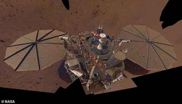 The InSight Mars lander operated on the Red Planet from May 5, 2018 until February 2021 when dust covered the solar powers preventing it from charging