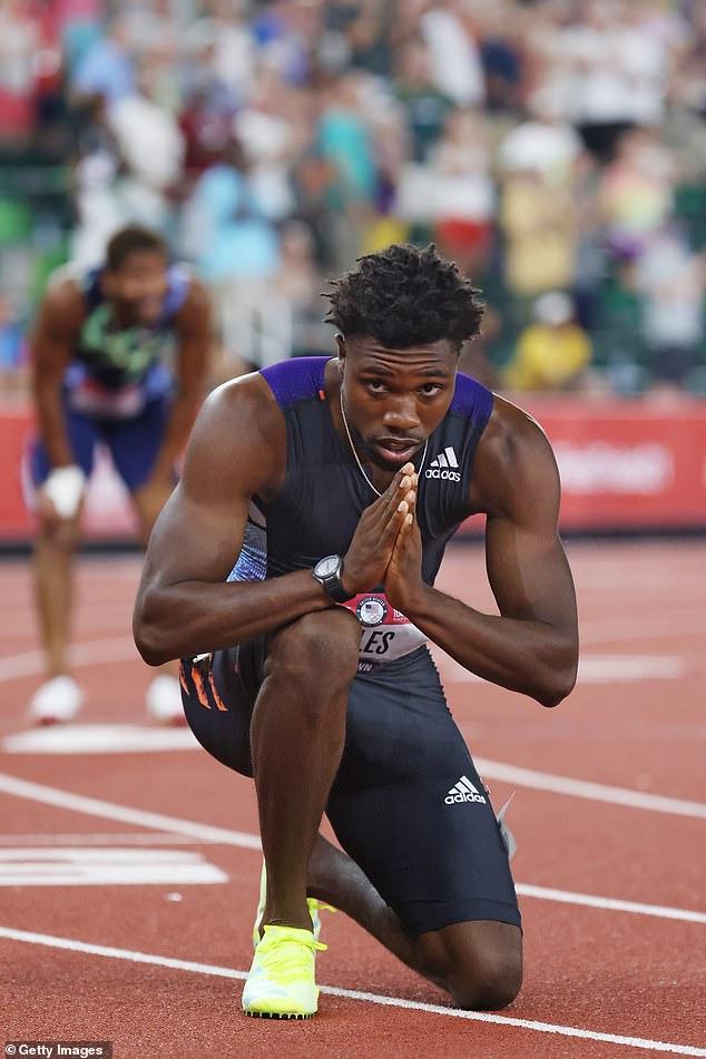 Noah Lyles faces the huge challenge of filling the gap left by sprinting legend Usain Bolt