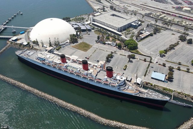 In recent years, the Queen Mary has functioned as a tourist attraction complete with an on-board hotel and restaurants. However, the ship is currently closed to the public after the company that held its lease recently filed for bankruptcy
