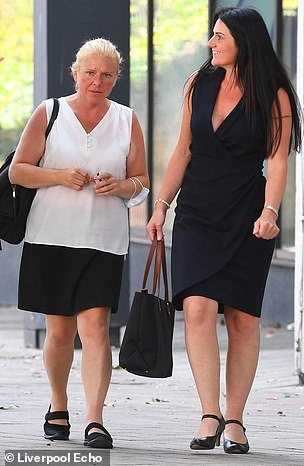 Both women (pictured above) have to pay £750 in costs and Willett was sentenced to £750 in compensation