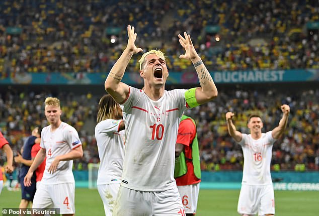 Roma approaching £17m purchase from Arsenal and Swiss midfielder Granit Xhaka17