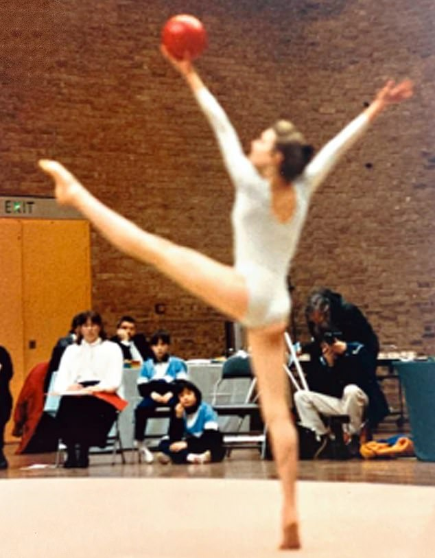 Ms Logan, daughter of former Wales football manager Terry Yorath, wanted to be a professional tennis player as a child but later took up gymnastics