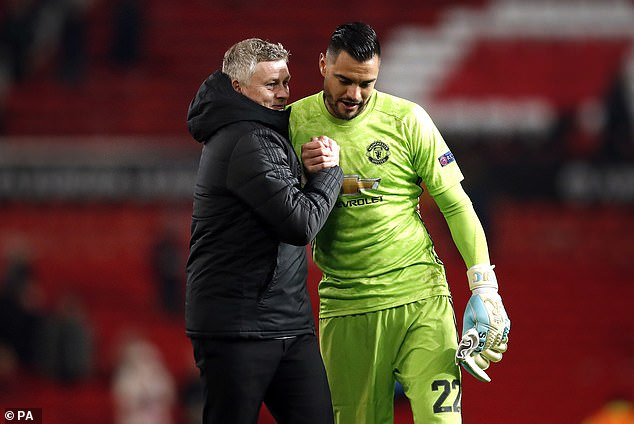 Romero played second fiddle to David de Gea for much of his six years at Old Trafford