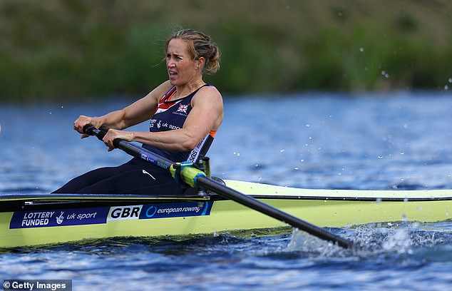 Helen Glover is looking to win gold after becoming a mother of three since Rio 2016
