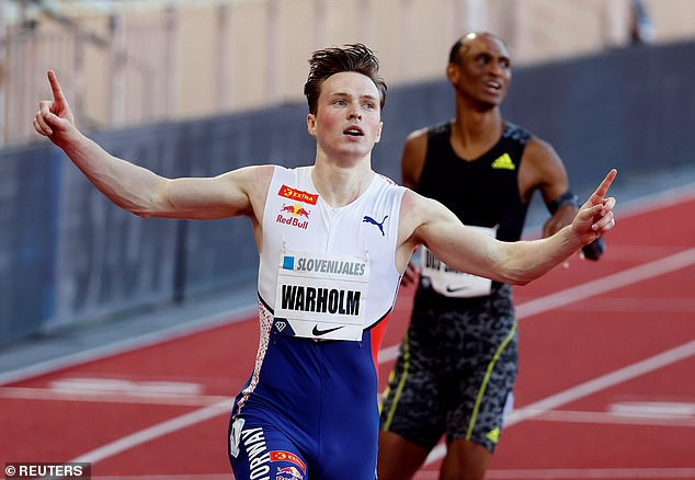 Karsten Warholm won the World Championships in London in 2017 when he was just 20 .  used to be