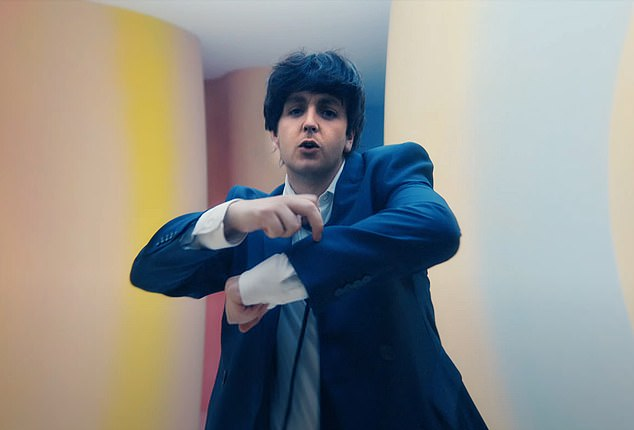 Yesterday, all his tresses seemed so far from grey. Now it looks as if they're here to stay. Well, at least it does in these shots from Sir Paul McCartney's latest video
