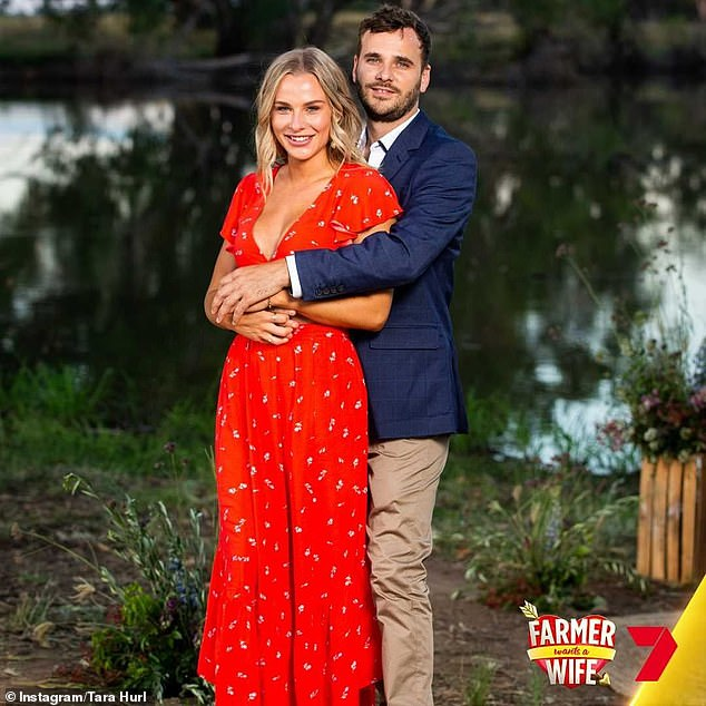 Finale: Tara had found love on the series with Victorian farmer Matt Trewin, 26, with the finale airing earlier this week.However, it remains unclear if the couple are still together